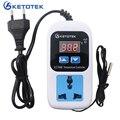 Temperatur Controller Outlet KT3008 KT3009 AC 110 220V Digitale Thermostat Steckdose Regler Stecker KT3010 Himidity Controller|Temperaturinstrumente|   -