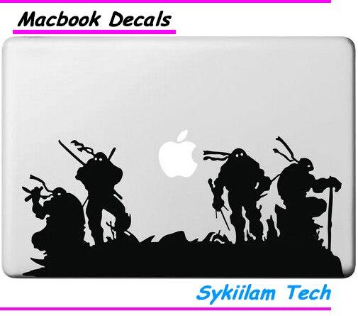 Game for Teenage Mutant Ninja Turtles для apple Наклейки Macbook Кожи Air 11 13 Pro 13 15 17 Retina Наклейка Ноутбук Стены Винила Автомобиля
