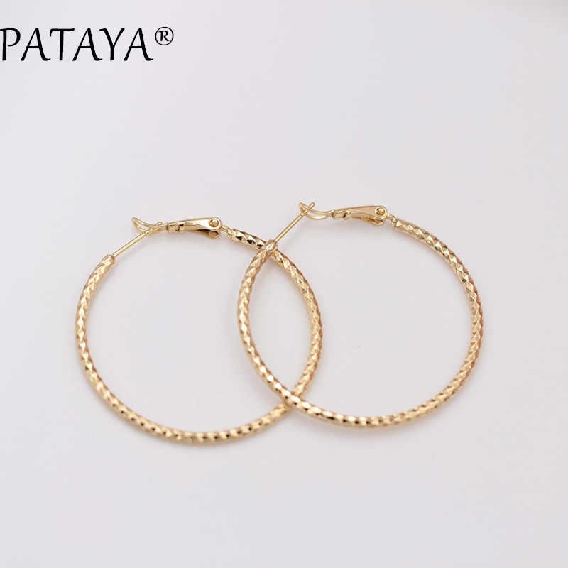 PATAYA, nueva capa única, pendientes dorados únicos, 585, colgante de oro rosa, Accesorios DE BODA nupciales, Araña de joyería Bohemia