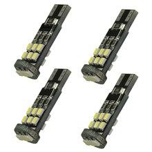 4PCS 168 194 501 W5W T10 15SMD 3020 Canbus Error Free LED side light/door lights Interior Bulb White