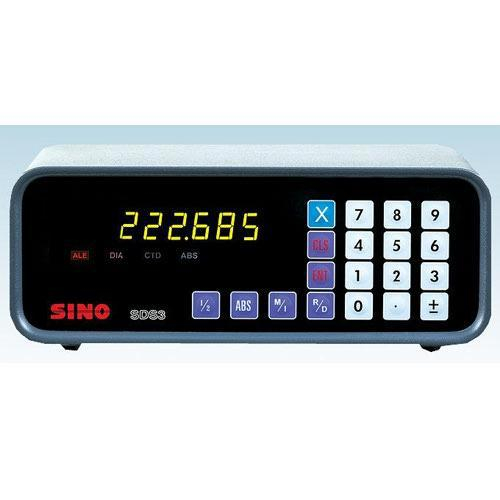SINO SDS3 1V single axis dro units with optical linear glass scale one axis digital readout