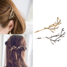 Vintage Gold Silver Tree Hair Clips