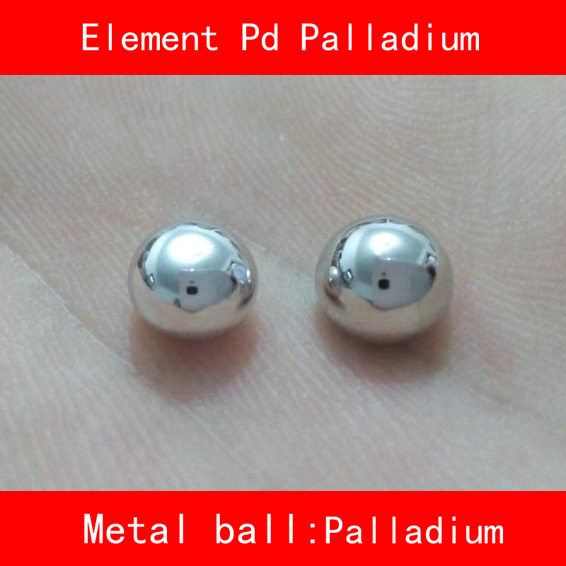 Pure 99.99% Pd Palladium Ball Table of Rare Earth Metal Elements for Research lab Collection дверная ручка palladium revolution kernel pd палладий