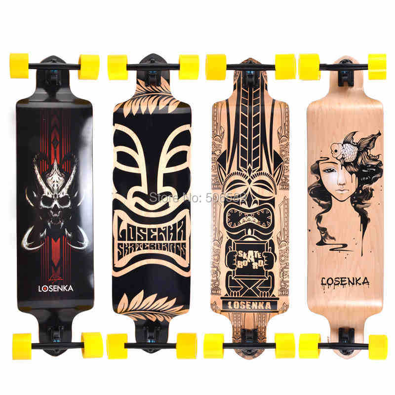 free shipping long board road board candian maple 105 cm riding style downhill sliding board