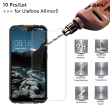 10 Pcs/Lot 2.5D 0.26mm 9H Premium Tempered Glass For Ulefone Armor 5 Screen Protector protective film 5.85