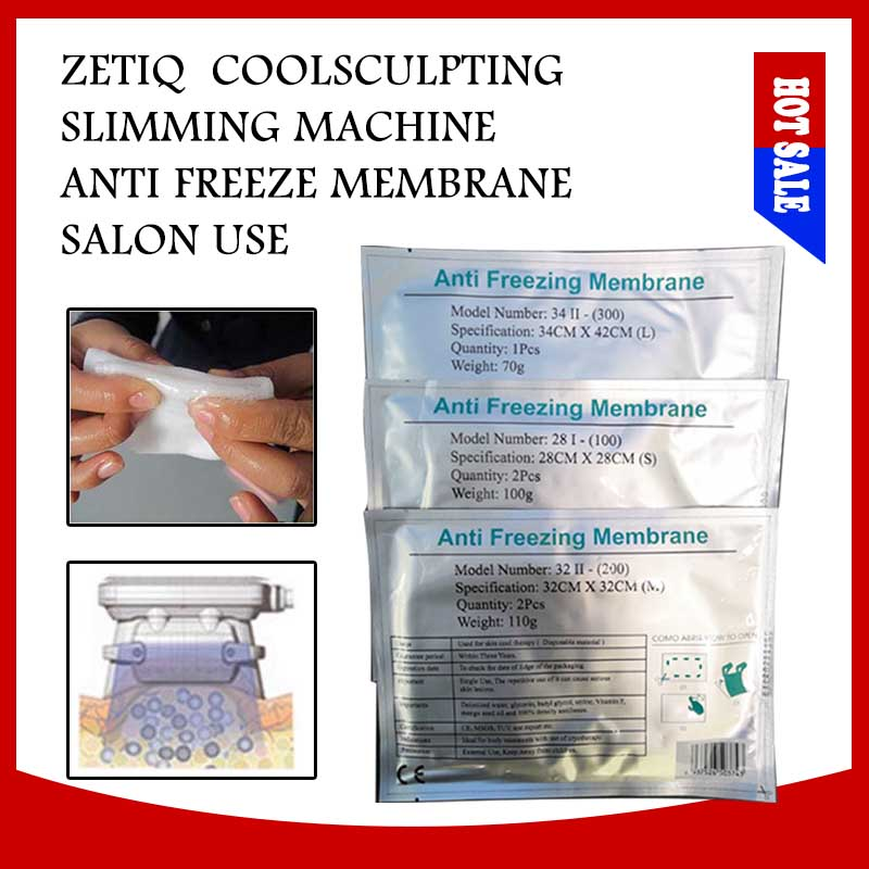 Different Size Anti Freezing Membrane Antifreeze Membranes Pad Body Slimming Anti Freeze For Cryotherapy  Cooling Frozen Machine