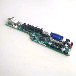 "Image 5 - T V56 controlador placas base kit de bricolaje para M101NWT2 notebook PC lcd panel VGA HDMI USB RF 40 pin 10,1 ""WLED LVDS 1024*600"