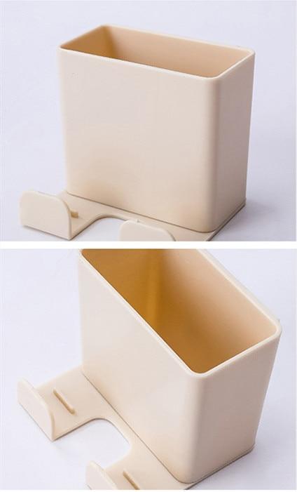 1 шт. настенный органайзер коробка для хранения пульт дистанционного управления кондиционер чехол для хранения мобильного телефона держатель подставка контейнер