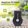 Anycast M2 mais sdr TV Vara 1080 p Hdmi Miracast Airplay Wifi exibição Ezcast Chromecast Vara Para tv Andriod Tablet Smart TV vs