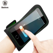 Baseus Armband Case For iPhone 7 6 6s Plus Samsung S8 Plus Sports Mobile Phone Holder Brassard Running Wristband Hand Phone Case