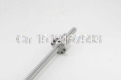 (1)SFU2005-4 Ball Screw Set Length 200~500mm 20mm Ball Dia With One Ball Nut 4 200 4 200 500