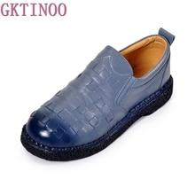Винтажные дамские туфли ручной работы натуральная кожа женские мокасины-лоферы мягкие трикотажные термостойкие повседневная обувь женская обувь на плоской подошве