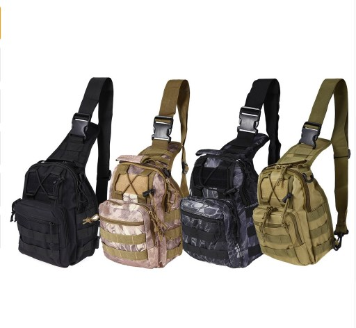 Sports & Entertainment Latest Collection Of By Dhl Or Ems 50pcs Nylon Military Tactical Travel Hiking Riding Cross Body Messenger Shoulder Backpack Chest Waterproof Bag Climbing Bags