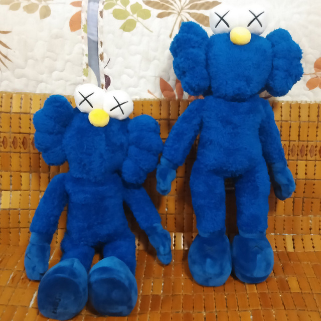 2016 Kaws Thailand Bangkok Exhibition Sesame Street Kaws BFF Plush Doll Toy Collections 40cm Height