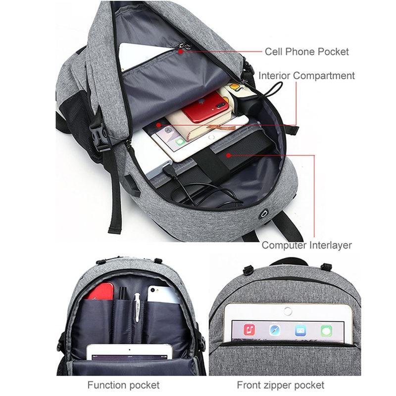 Men's Backpack Rucksack Gym Bag Fitness Bag Travel Sports Basketball Bag Daypack