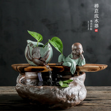 2019 Limited Incenso Water Of Small Household Aquarium Maitreya Furnishing Articles Chinese Zen Gifts Direct Selling Wholesale