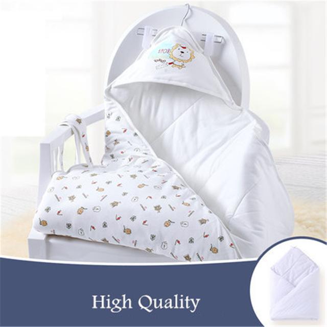 Suave Del Bebé Swaddle Mantas de Algodón Manta Envolver Para Bebés de Alta Calidad Linda de Algodón Mantas de Bebé Recién Nacido Super Suave 70X0072