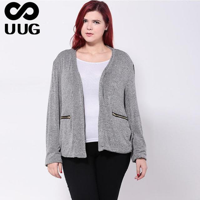 Fashion Women Basic Coats 2016 Autumn Winter Plus Size Women Clothing Elegant Cardigan Ladies Jacket Outwear And Coats Big 6xl
