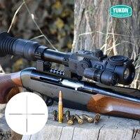 YUKON 4,5X42 S/6X50 цифровой Riflescope охотничий riflescope ночной riflescope ночного видения прицел инфракрасное устройство