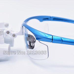 Image 3 - Hohe qualität 3,5 X420mm Tragbare Zahnarzt Chirurgische Medizinische Binocular Dental Lupe Optische Glas Für Dental Prüfungen