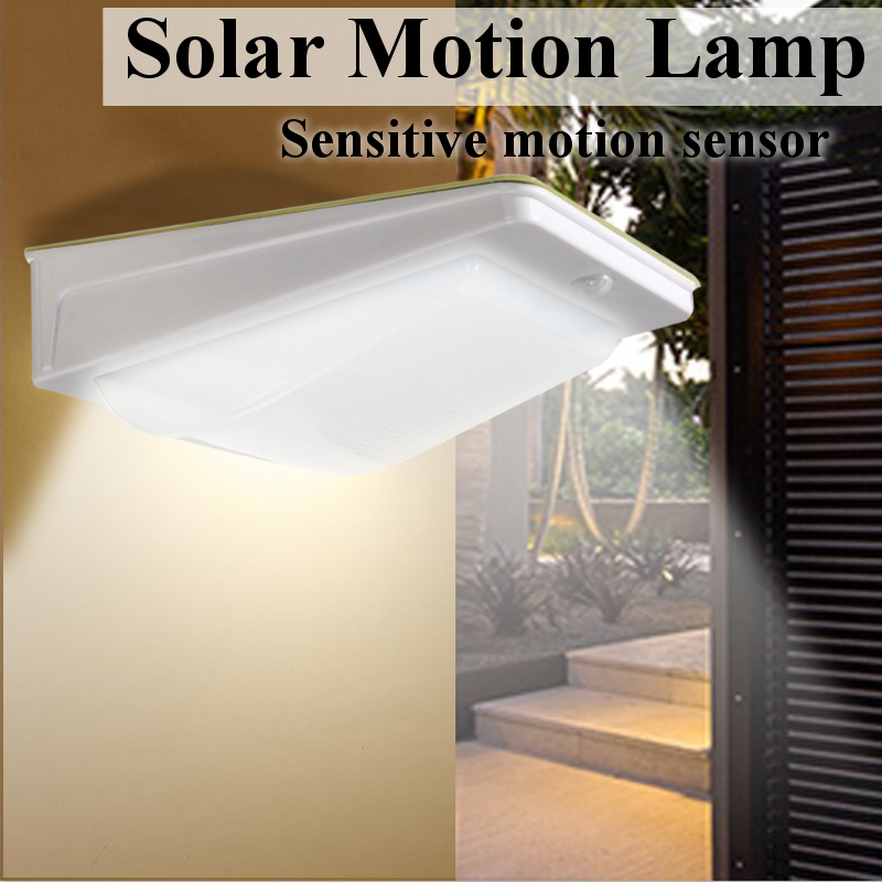 Mising LED Solar Light Outdoor Wall Lamp For Garden Path Led Waterproof Body Induction PIR Motion Sensor Courtyard Light 3W outdoor light solar lighting led super bright household outdoor waterproof courtyard body induction courtyard body sens lamp