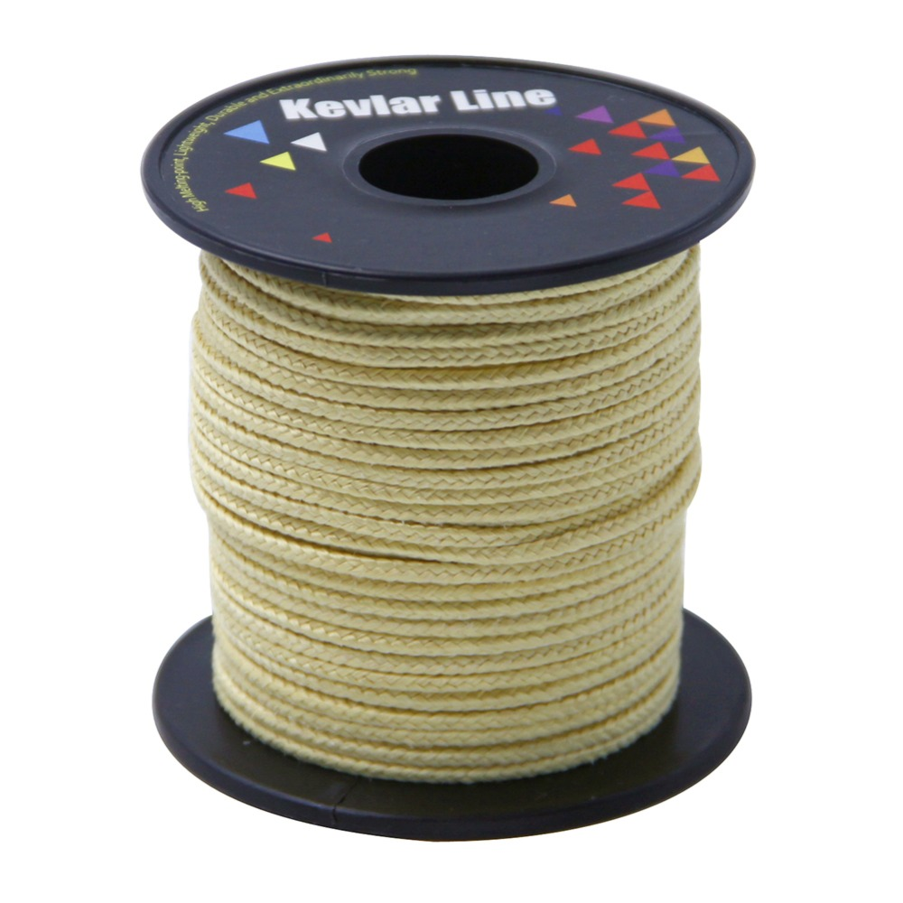 100ft 750lb Braided Kevlar Line Large Power Stunt Kevlar Kite Line String Outdoor Fishing Line Free Shipping high quality durable 2000ft 120lbs dacron polyester braided fishing line bridle kite rope free shipping