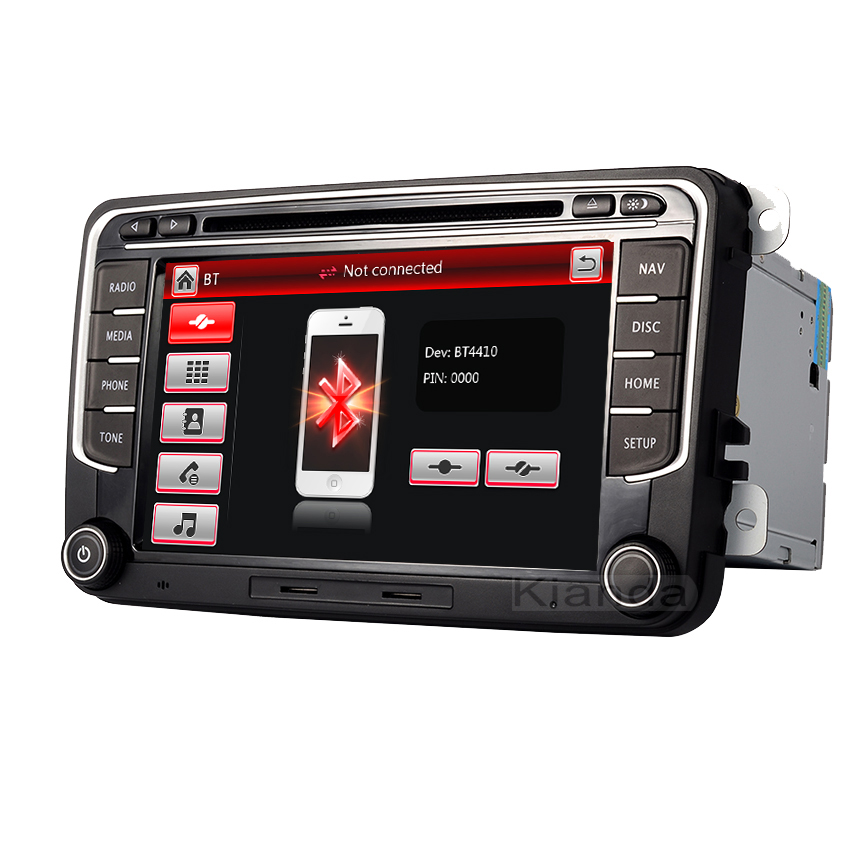 Image 3 - RNS 510 car radio for Volkswagen Golf Polo Passat b6/b7 Tiguan octavia with 3G GPS Bluetooth Radio USB SD Steering wheel Control-in Car Multimedia Player from Automobiles & Motorcycles