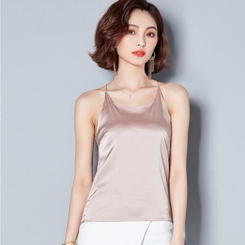 Nouveau J20004 usine directe prix de gros femmes chemise de base taille libre en mousseline de soie chemises d'été