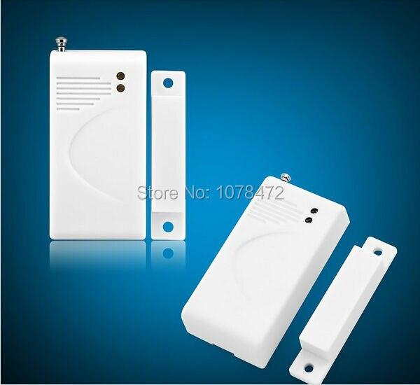 Inteligente sistema de alarme de segurança PSTN + GSM dual rede sem fio, kit 3 PIR detector + 5 sensor de porta, sistema de alarme Home - 4