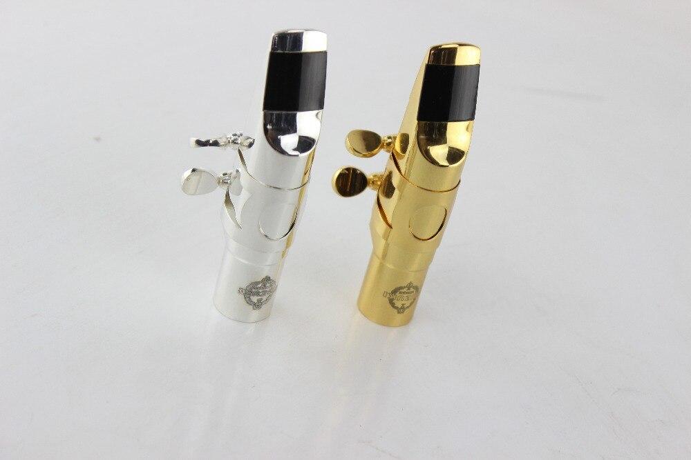 SUZUKI Professionale Argentatura e Metallo Oro Sassofono Contralto Boccaglio Sax Formato 5-9 Strumenti Musicali Sax Tenore Bocchino