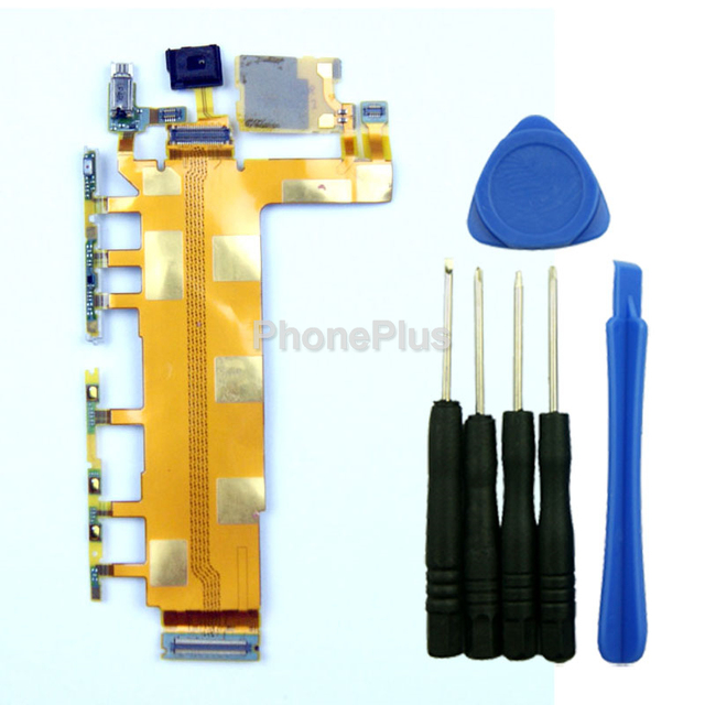 For Sony Xperia Z3 L55T D6603 D6653 Power On Off Switch Volume Button Key Flex Cable Repair Part