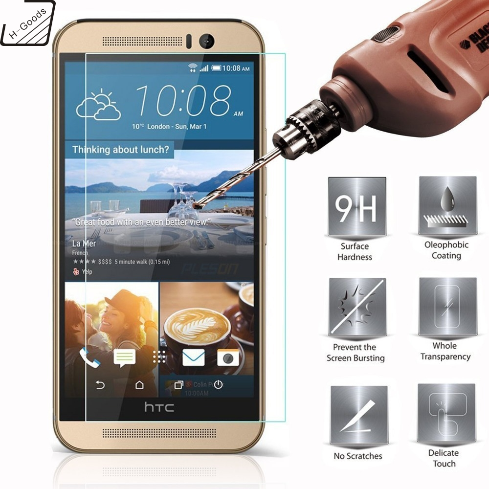 H-Goods For HTC Desire 816 Dual Sim Tempered Glass Film 2.5 9h Safety Protective Screen Protector on A5 D816w D816t D816n D816g