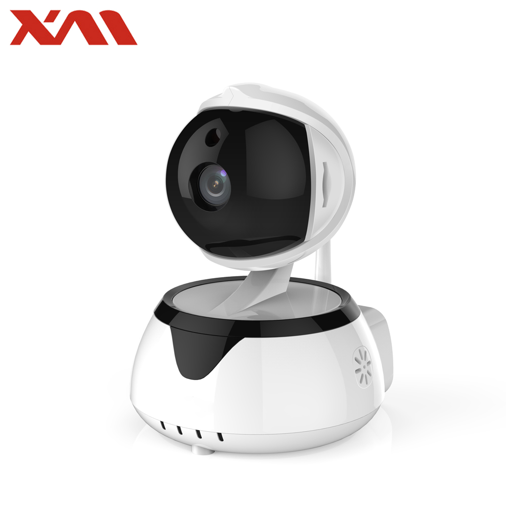 Wireless WiFi Security Camera 1MP 720P HD Pan Tilt Day Night Vision IP Network Surveillance Baby Monitor support Two-Way Audio hot 720p hd clever dog network wireless mini ip camera security video surveillance wifi baby monitor two way audio support card