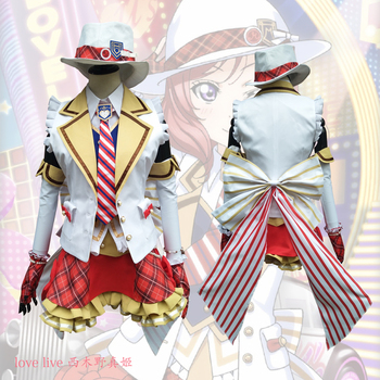 2018 New LoveLive! Card HR Nishikino Maki Cosplay Costume Fancy Dress Adult Costumes Carnival/Halloween Costumes for Women S-XL 2