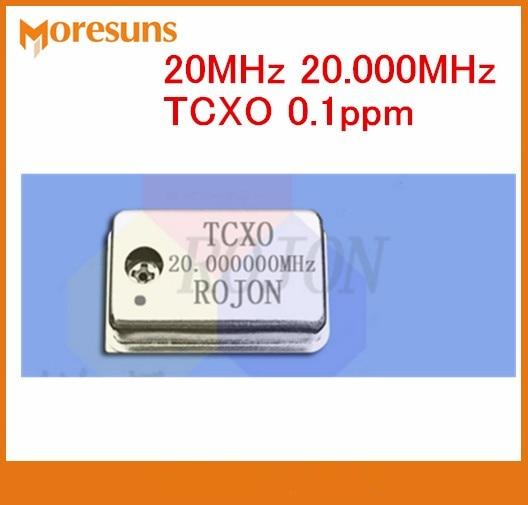 Fast Free Ship 10pcs/lot  20MHz 20.000MHz TCXO 0.1ppm  temperature-compensation crystal oscillator
