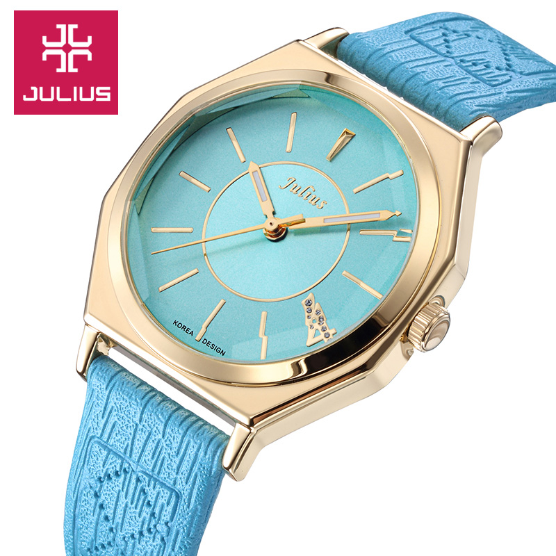 Julius Lady Women's Watch Japan Quartz Hours Fine Fashion Dress Leather Bracelet Girl Birthday Christmas Valentine Gift Box small julius lady women s watch japan quartz fashion hours tassel clock chain bracelet top girl s valentine birthday gift box