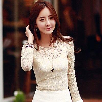 Lace blouse women's shirt blusas womens tops and blouses long sleeve winter autumn blusas mujer de moda 2018 plus size 5XL 7