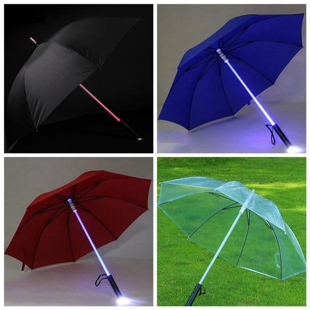 LED Light Up Light Saber Umbrella
