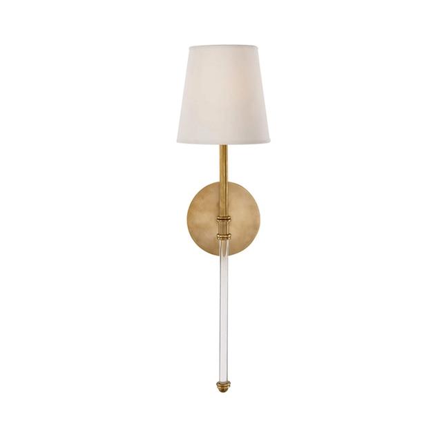 Kısa tasarım modern duvar lambaları altın siyah duvar işıkları ev için