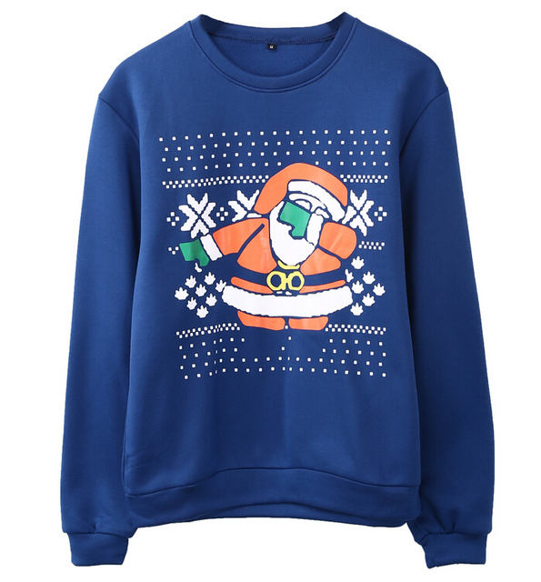 Blue Mens ugly christmas sweater 5c64c1130a7b4