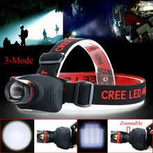 NEW Mini headlamp 1000 Lumens CREE Q5 LED Zoomable Adjustable Flashlight Head Torch Light lamp For Camping Hunting Fishing 3xAAA