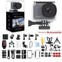 Спортивная камера AKASO V50 Pro, специальный выпуск, 4 K, экшн камера, сенсорный экран, 60 м, водонепроницаемая камера, Wi Fi, дистанционное управление