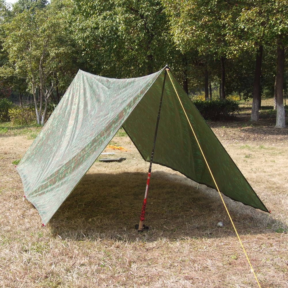 Beach Ultralight Sun Shelter Camping Mat Tent Pergola Awning Canopy Tarp Barbecue And Picnic Ground Fabric 3m In From Sports