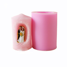 цена на Nicole Silicone Soap Candle Mold Bride and Groom Shape DIY Handmade Soap Mould Craft Chocolate Resin Clay Decorating Tool