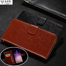 Flip leather case for Samsung Galaxy S3 S4 S5 Mini fundas wallet style kickstand protective capa cover for I8190 I9190 G800 F H kuchi stylish flip open protective leather case for samsung s4 mini black