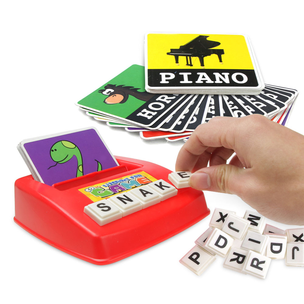 Spelling toy English Spelling Alphabet Letter Game Early ...