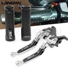 For YAMAHA FZ8 Fz 8 Logo 2011 2012 2013 2014 2015 2016 FZ-8 Motorcycle Accessories Brake Clutch Levers & handlebar handle bar