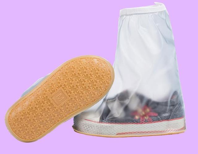 Children Kids Waterproof Five Colours Reusable Rain Shoes Cover Anti ...