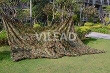 VILEAD 2 M * 3 M Militaire Camping Camouflage Net Woodland Armée Camo Filet de Chasse Soleil Abri Tente Ombre Net pour Voiture Couvrant
