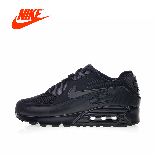 55fcb51cff Original New Arrival Authentic Nike Air Max 90 Essential Men's Comfortable Running  Shoes Sport Outdoor Sneakers 537384-090